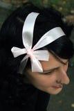 Color de rosa en el negro Imagen de archivo libre de regalías
