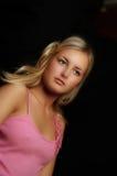 Color de rosa modelo Fotografía de archivo