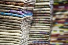 Color de Tekstil Imagenes de archivo