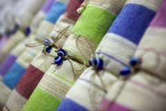 Color de Tekstil Imagen de archivo