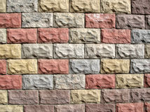 Color pavement royalty free stock image