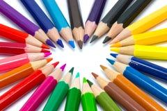 Color del amor Fotos de archivo libres de regalías