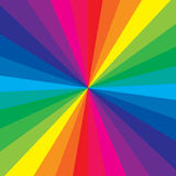 Color del arco iris stock de ilustración