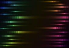 Color del arco iris del fondo abstracto de la velocidad del pixel Imagen de archivo libre de regalías