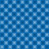 Color del azul del modelo de las luces de neón Fotografía de archivo libre de regalías