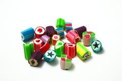 Color del caramelo Foto de archivo