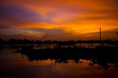 Color del cielo Foto de archivo libre de regalías