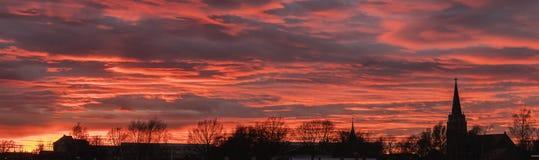 Color del cielo Fotografía de archivo