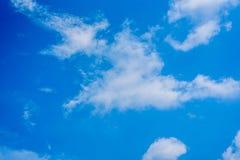 Color del cielo azul del aire Foto de archivo
