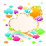 Color del cielo del arte Libre Illustration