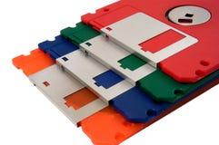 Color del disco blando Fotos de archivo libres de regalías