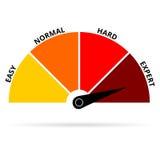 Color del experto del icono de la escala Fotografía de archivo