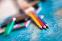 Color del lápiz Imagen de archivo libre de regalías