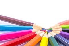 Color del lápiz Fotos de archivo