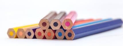 Color del lápiz Fotos de archivo libres de regalías