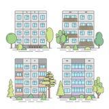 Color del panel linear1 Imagen de archivo libre de regalías