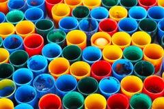 Color del tubo Fotos de archivo