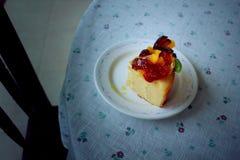 Color del vintage de la torta Foto de archivo libre de regalías
