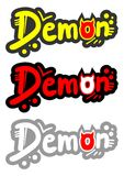 Color demon stick Royalty Free Stock Photo