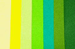 Color depth green paper color Stock Image