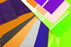 Color design selection Royalty Free Stock Image