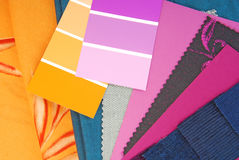 Color design selection Royalty Free Stock Photo