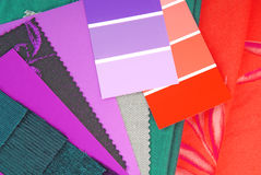 Color design selection Royalty Free Stock Images