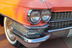 Color details of vintage car Stock Photos