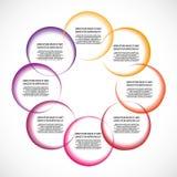 Color diagram / schema Stock Photos