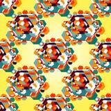 Color diamond pattern background Stock Photo