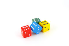 Color dice Stock Image