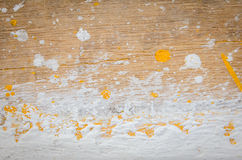 Color dirty on plywood Stock Photos