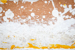 Color dirty on plywood Stock Photography