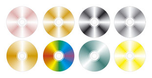 Color disks Royalty Free Stock Photos