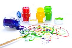 Color disorder Royalty Free Stock Photo