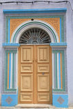 Color door royalty free stock photo
