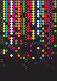 Color dot background Stock Images