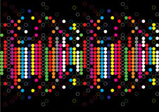 Color dot background royalty free stock image