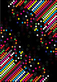 Color dot background Stock Photography