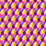 Color dot pattern. Seamless abstract background stock illustration