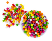 Color dots isolated Royalty Free Stock Photo