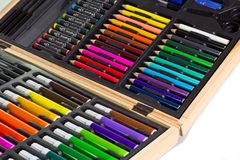 Color drawing set Royalty Free Stock Image