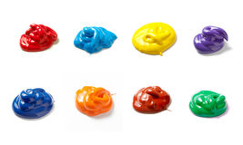 color drop liquid paint spot Стоковые Изображения RF