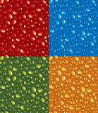 Color drops Royalty Free Stock Photo