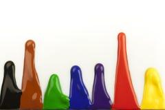 Color drops Stock Photo