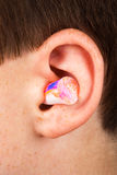 Color earplug Stock Photo