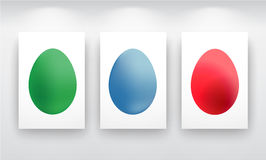 Color Easter egg Royalty Free Stock Photography