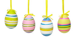 Color Easter eggs Stock Images