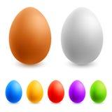 Color Easter Eggs Stock Photos