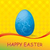 Color egg background Royalty Free Stock Image